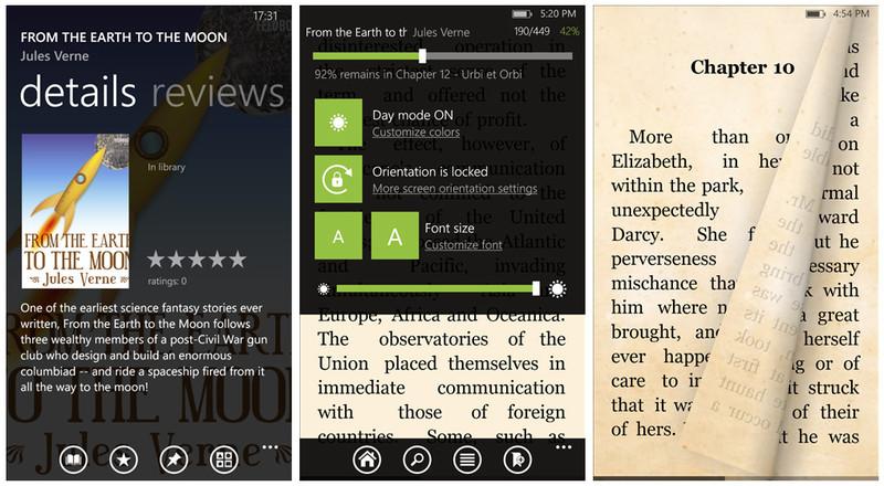 Bookviser Screen