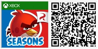 Angry Birds Seasons QR