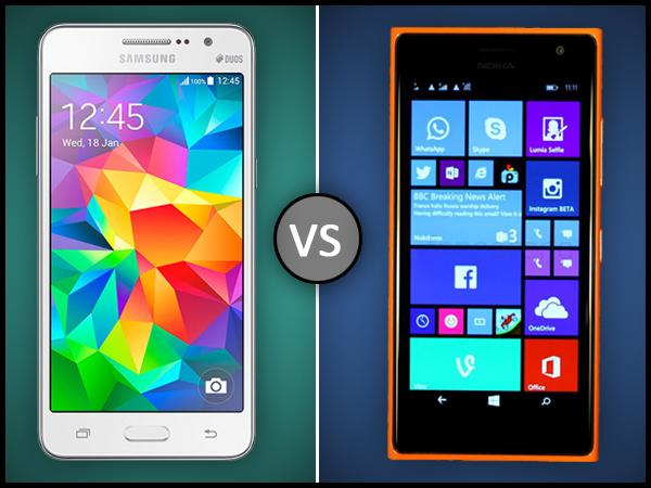 Galaxy vs Lumia
