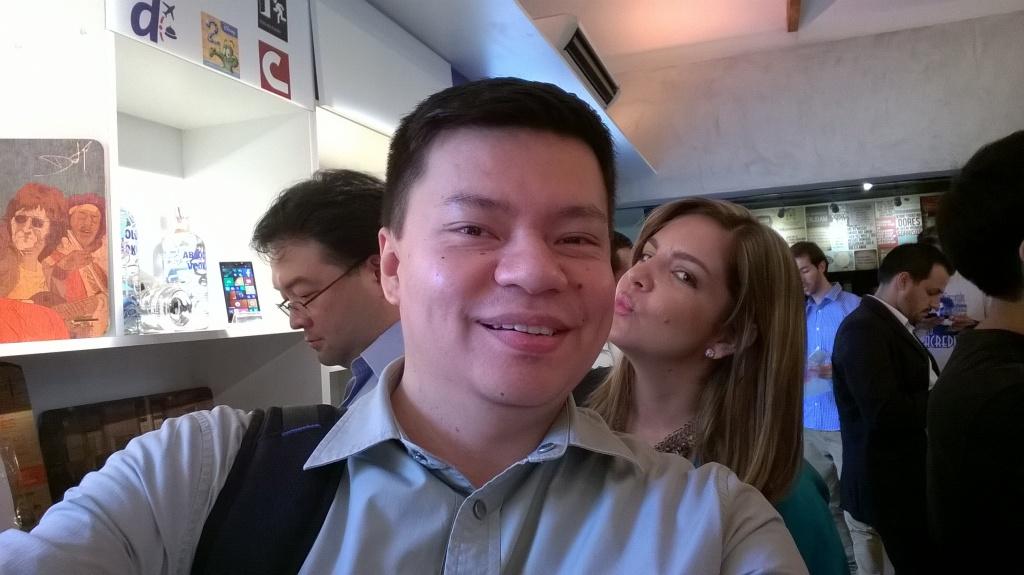 selfie Lumia 730 1