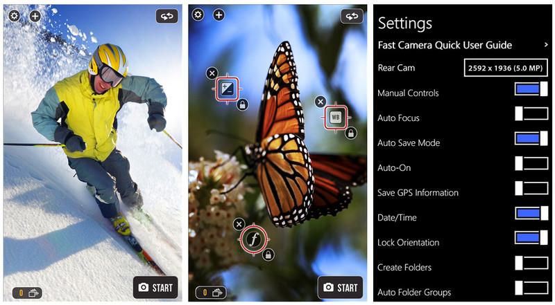 Fast_Camera_Screens