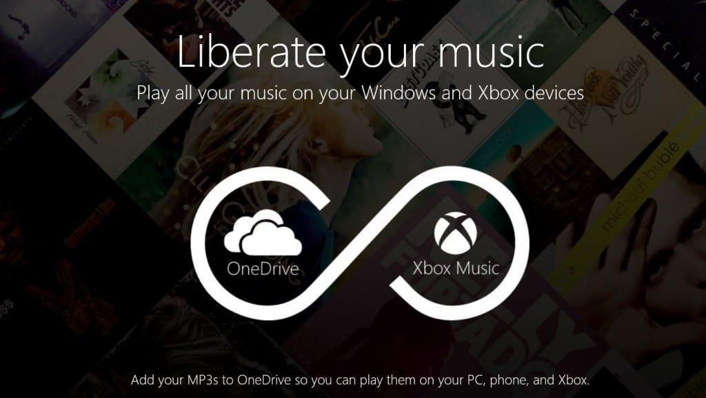 XboxMusic Onedrive
