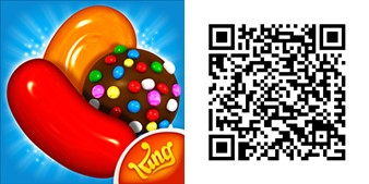 Candy Crush Saga QR