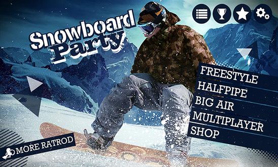 Parte Snowboard capa