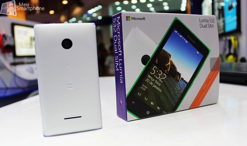 Caixa Lumia 532
