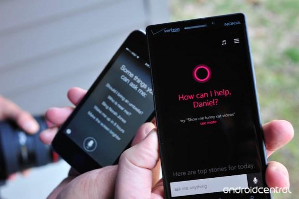Cortana Android iOS
