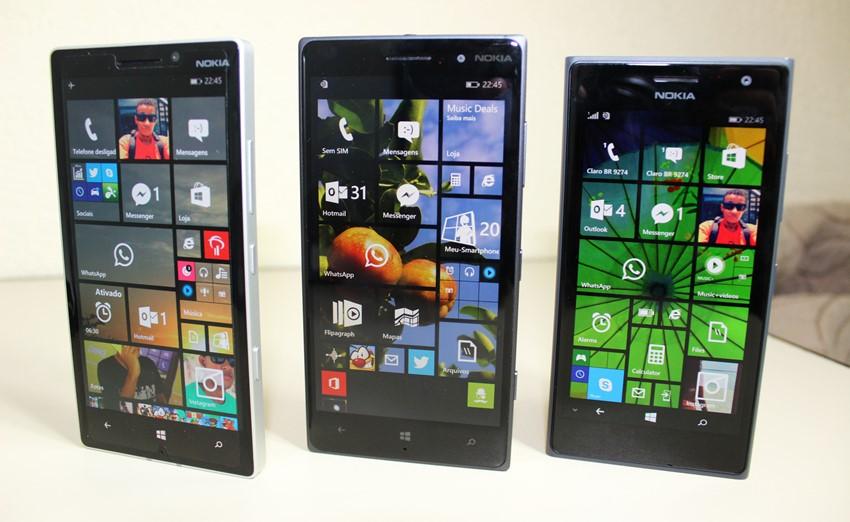 Lumia 930 vs 830 vs 730