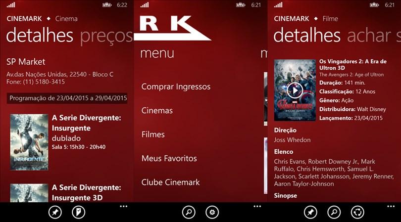 CInemark screens