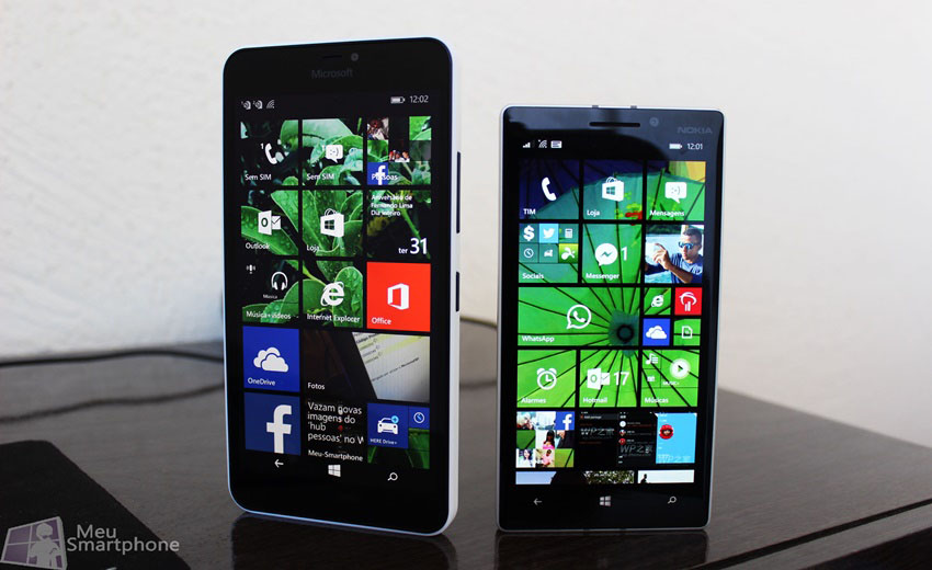 Lumia 640 xl e 930