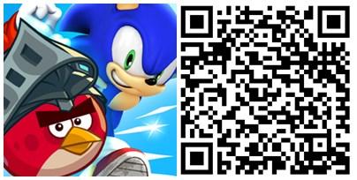 Sonic Dash QR