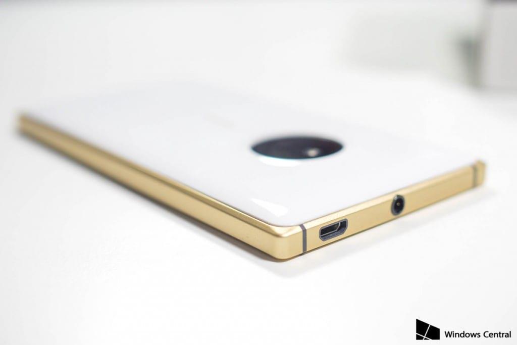 lumia-830 branco dourado