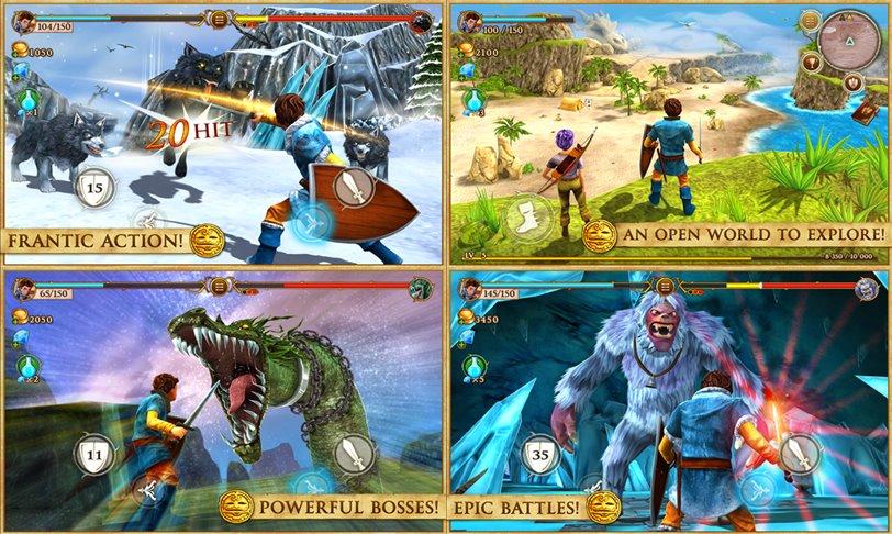 Beast Quest screens