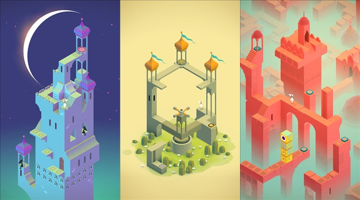 Monument Valley screens