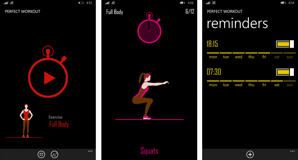 Perfect_Workout_Screens