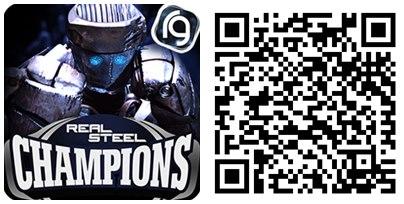 Real Steel Champions QR