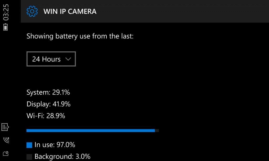 Bateria Windows 10