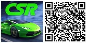 CSR Racing QR