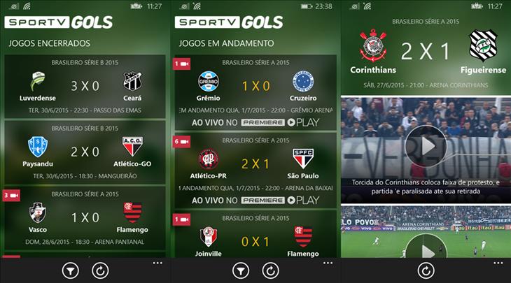 SportV-Gols