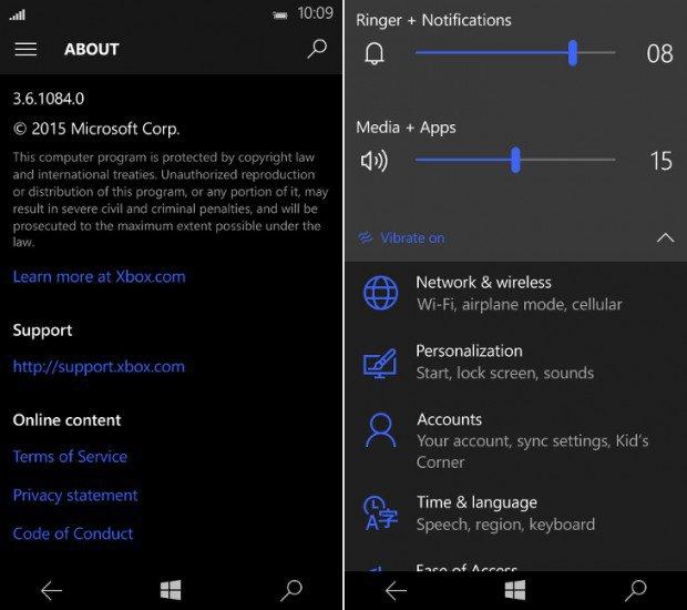 Windows 10 Mobile: Imagens da Build 10158 revela mais