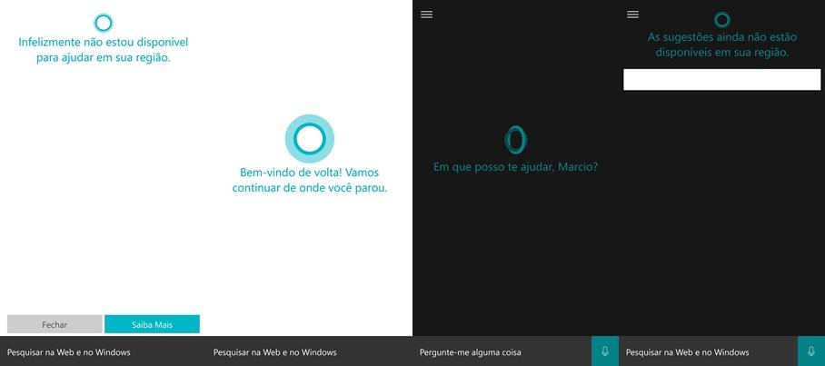 Cortana PT-BR