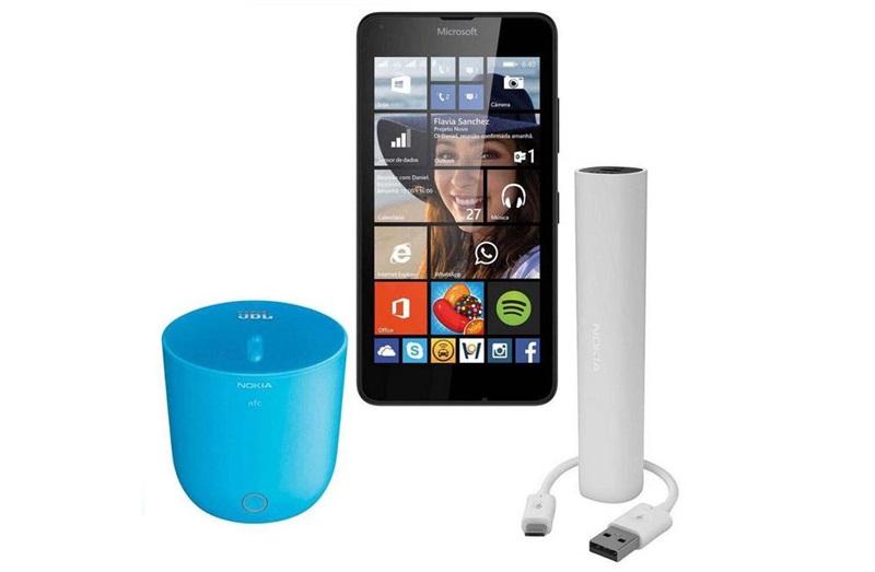 Caixa de som Lumia 640 carregador