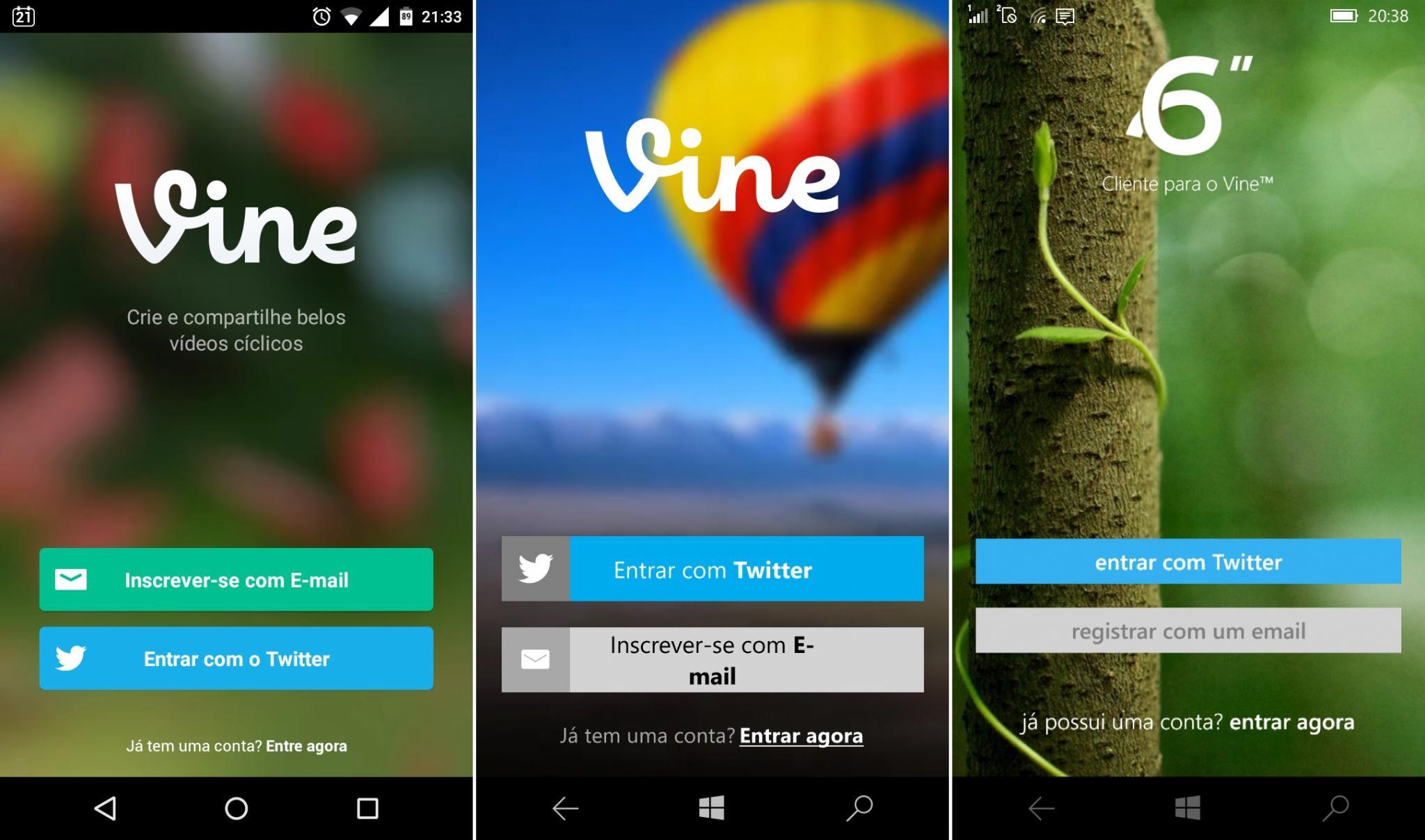 Comparativo de apps #10 - vine -1