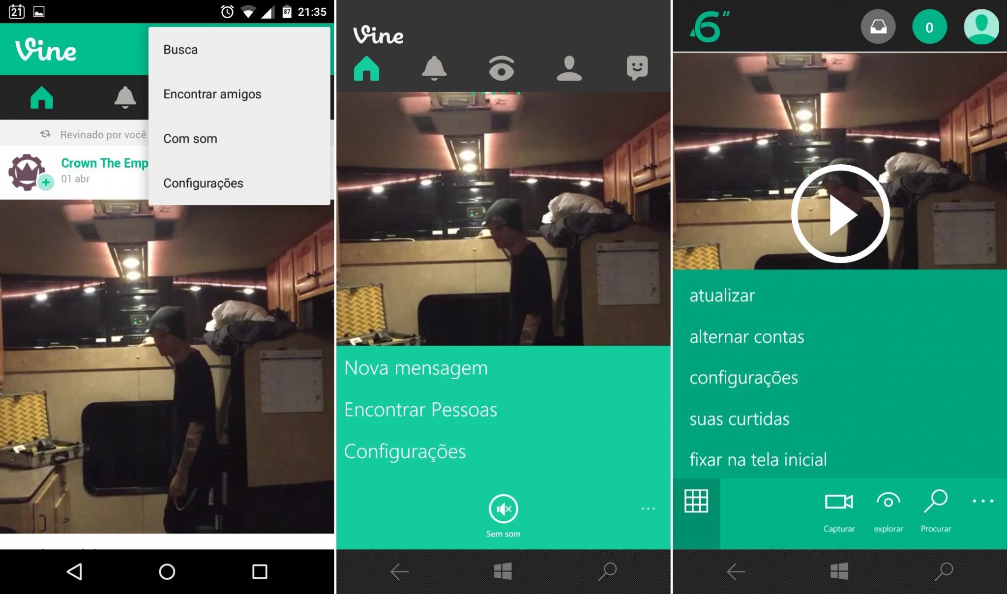 Comparativo de apps #10 - vine -4