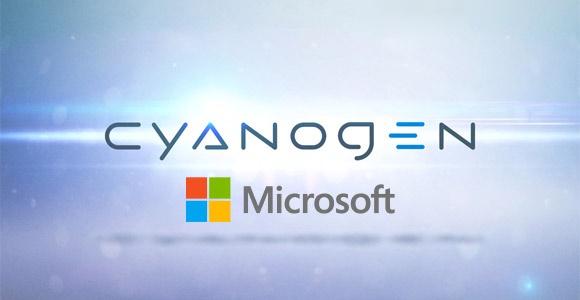 Cyanogen & Microsoft