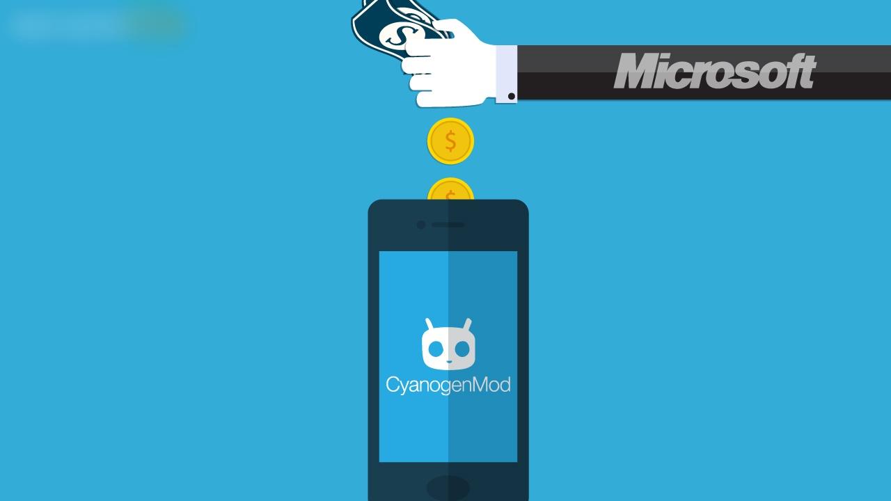 Microsoft powers Cyanogen