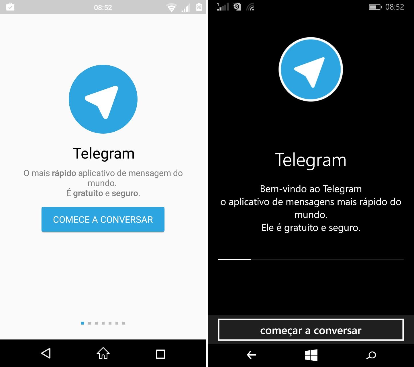 comparativo de apps #11 telegram - 1
