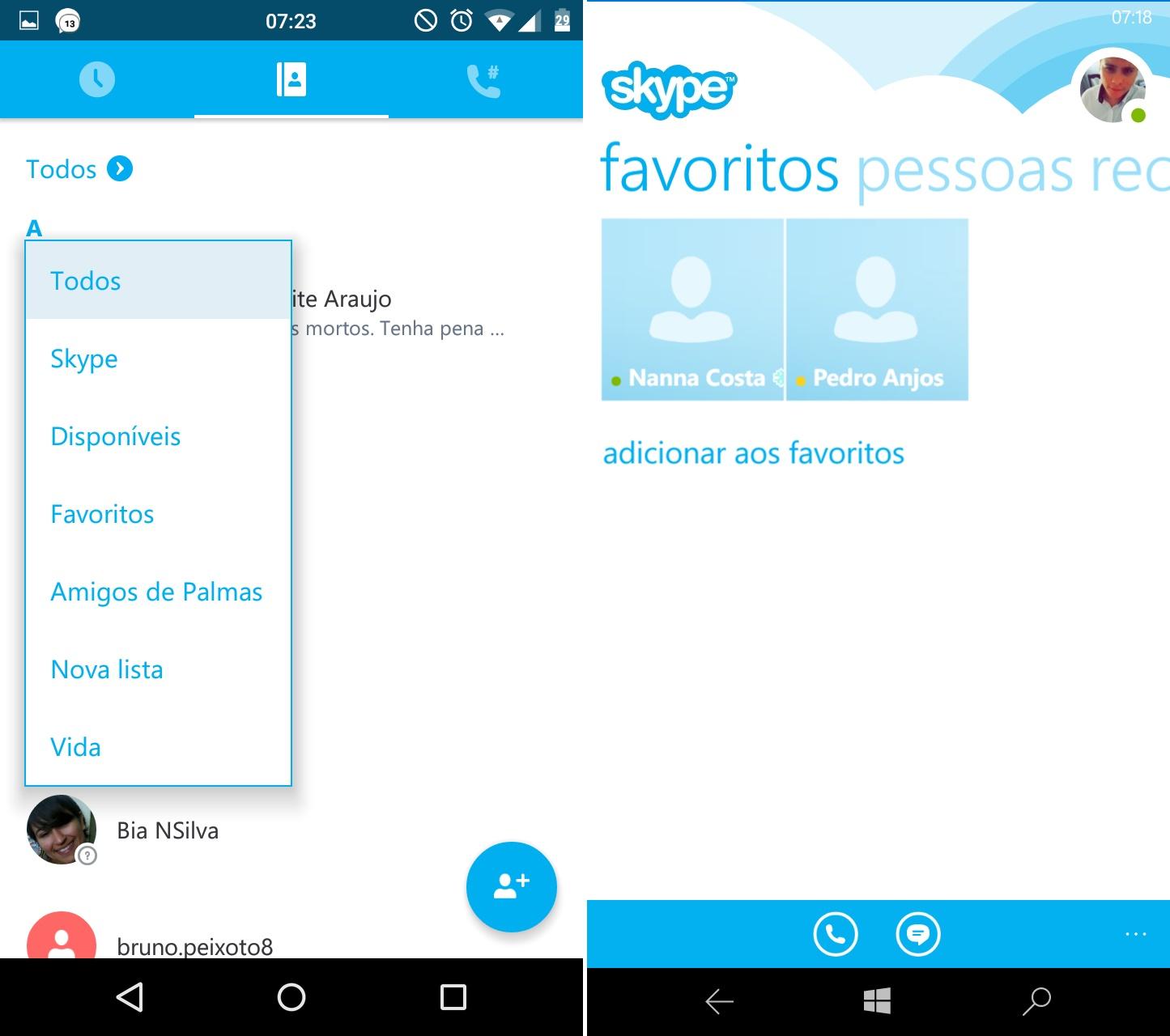 5-comparativo #12- skype