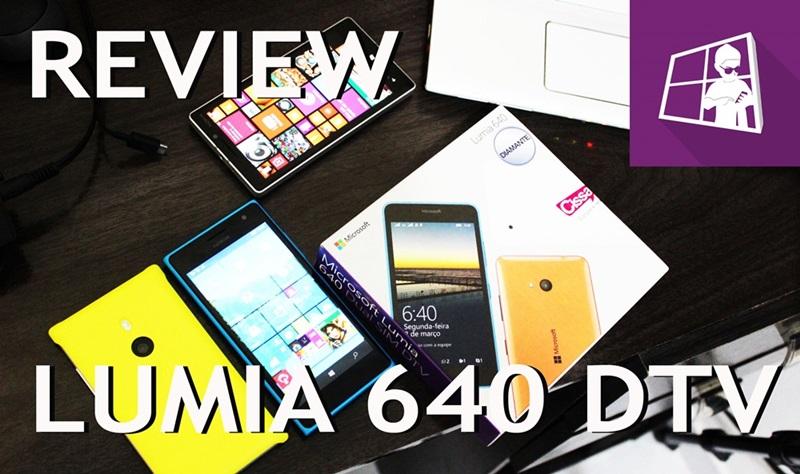 Lumia 640 DTV