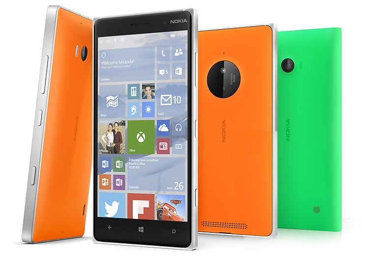 Lumia 930 830 e 730