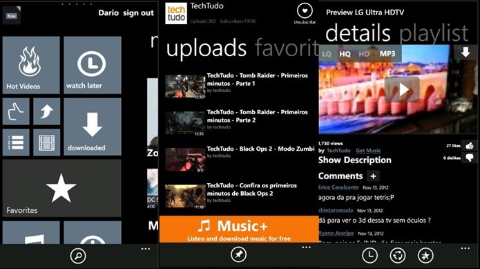 5 melhores alternativas ao youtube para o seu windows phonemobile youtube tub hd ccuart Image collections