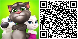 Talking-Tom-Bubble-Shooter QR