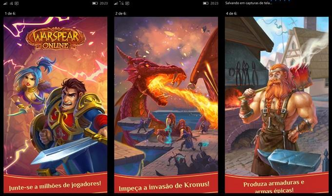Warspear online MMORPG Windows Phone