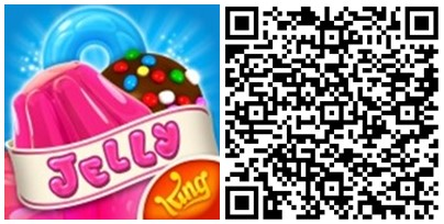 Candy Crush Jelly Saga QR