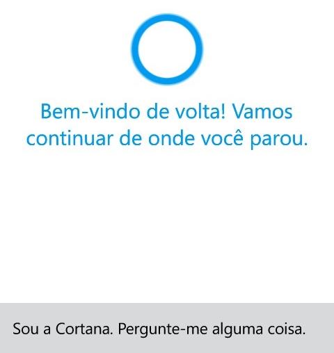 Cortana portugues