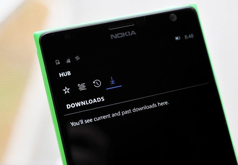 Edge Windows 10 Mobile