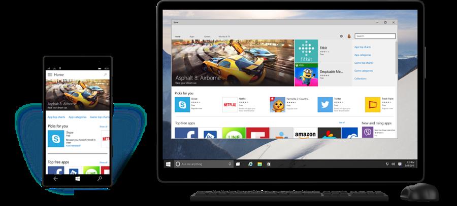Windows Store Windows 10