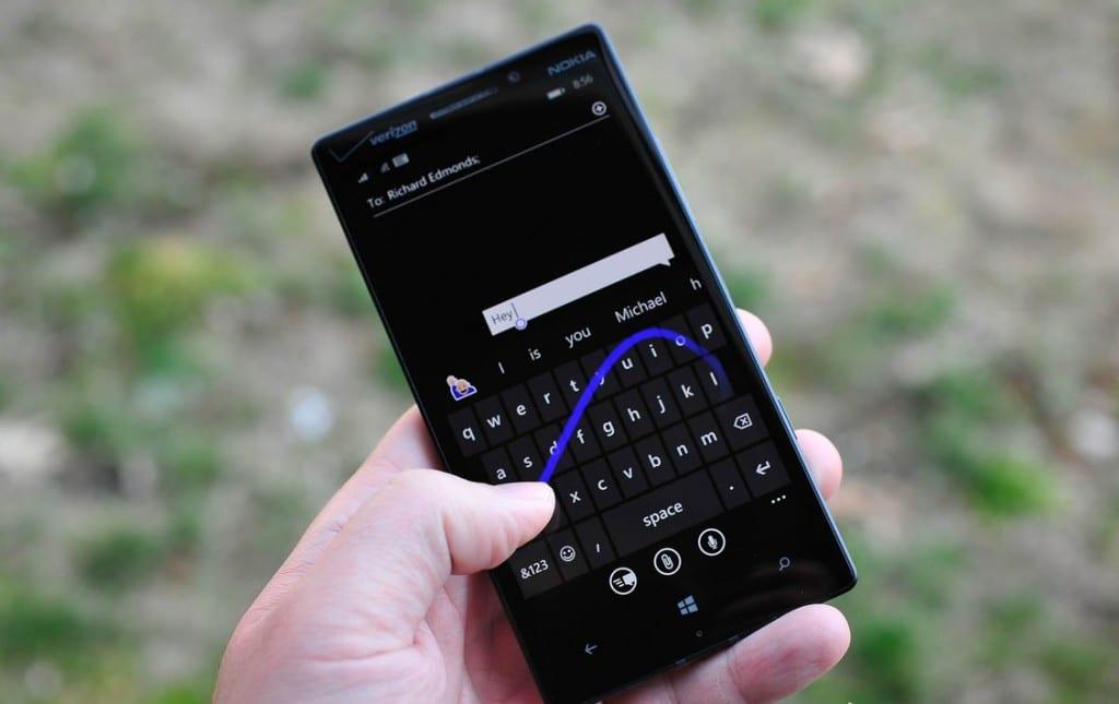 Word_Flow Teclado Windows Phone