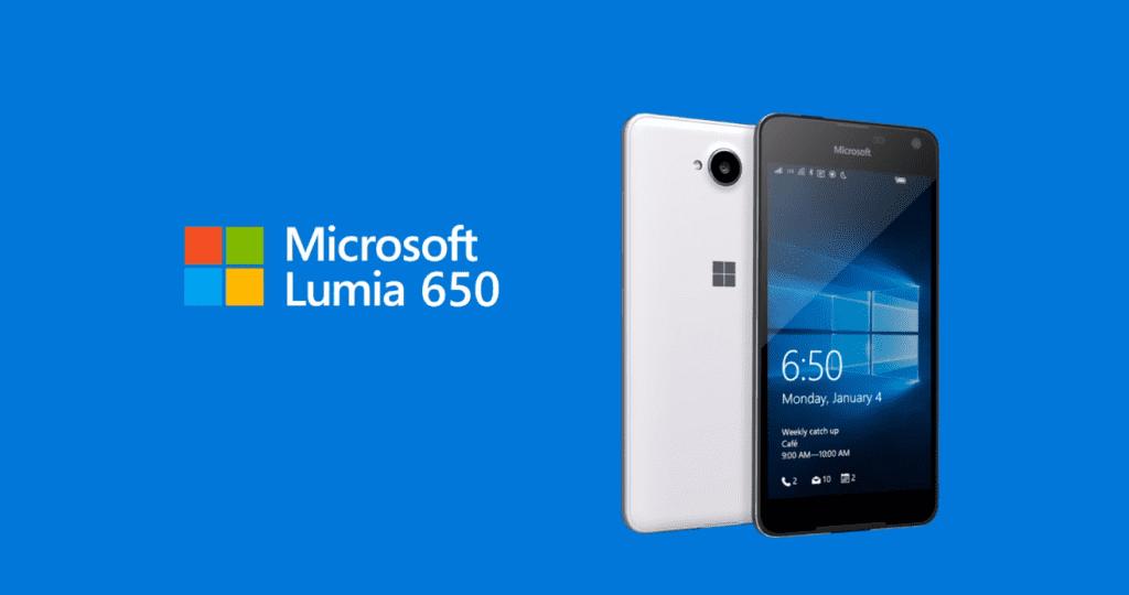 Lumia 650 oficial