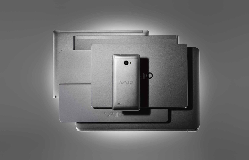 VAIO Phone Biz Silver