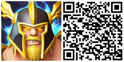 Hero Sky Guerras de guildas QR