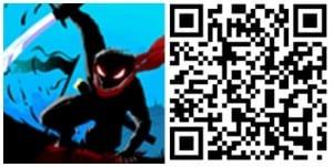 Stickman Ghost Ninja QR