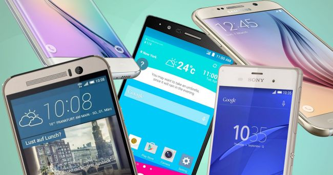 Android N smartphones