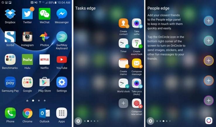 Galaxy S7 Edge Software