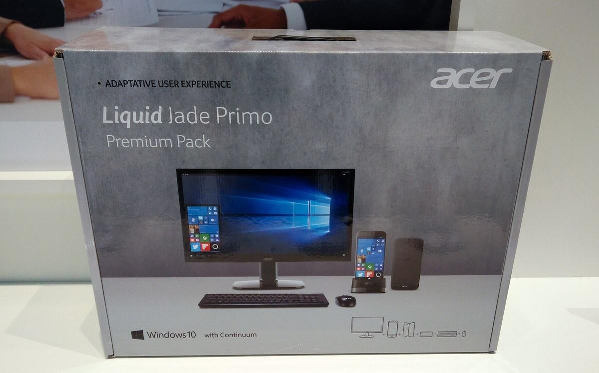 Acer lança Jade Primo com Windows 10 Mobile juntamente com ...