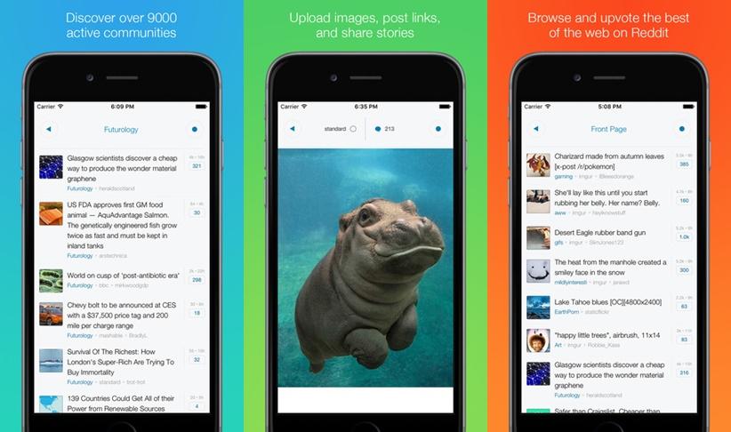 Reddit iOS Android