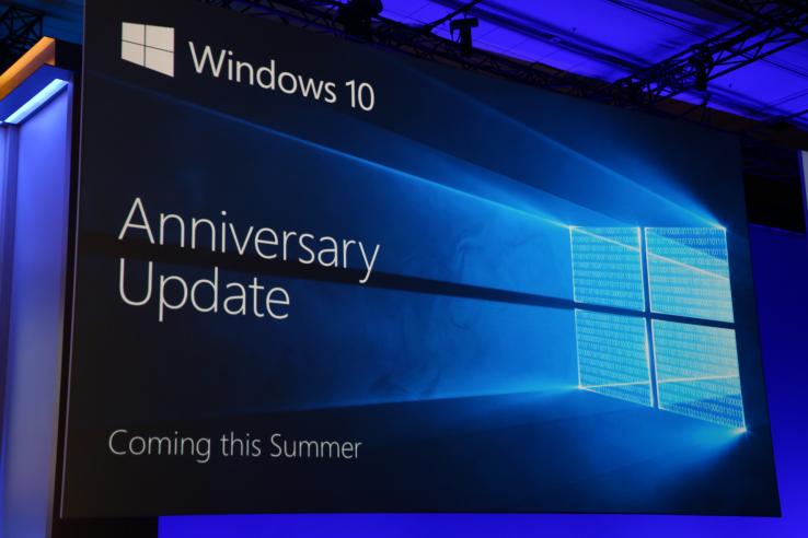 Windows 10 Anniversary